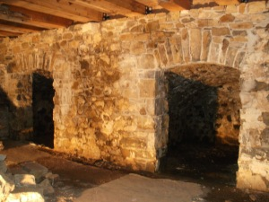 Root Cellars under Barn Bank