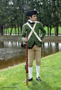 Militia at the Pond