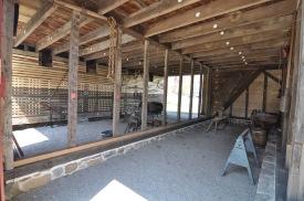 Inside Wagonhouse A