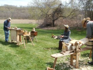 woodworkers and weavers