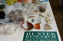 Items Found during Dig