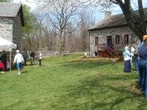 Lawn by Farmhouse
