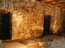 Root Cellars in Barn