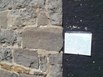 Datestone on Barn - 1824