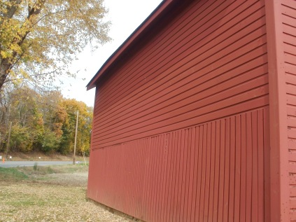 Siding/corncrib on Wagonhouse A