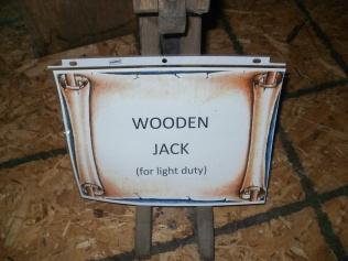 Wooden Jack