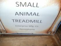 Small Animal Treadmill