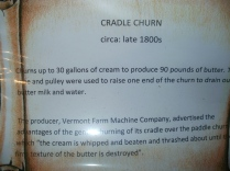 Cradle Butter Churn