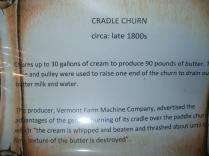 Cradle Butter Churn