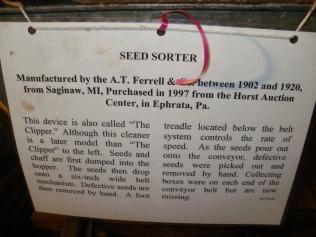 Seed Sorter