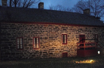 The Farmhouse at night
